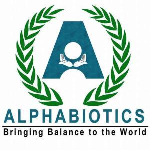 Alphabiotics Blue Green Logo